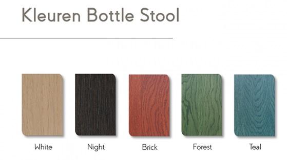Kleuren Bottle Stool Pode